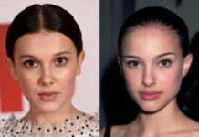 confronto tra millie bobby brown e natalie portman star wars