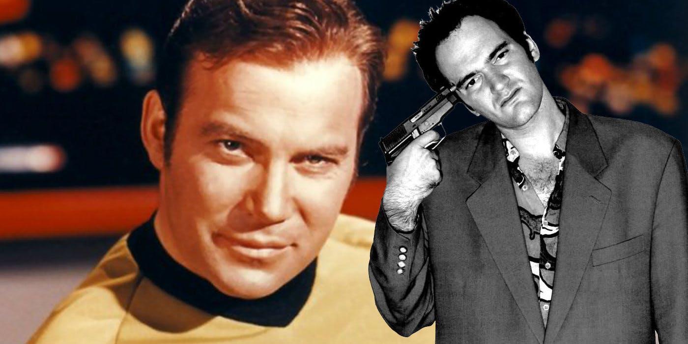 Quentin Tarantino e il capitano Kirk