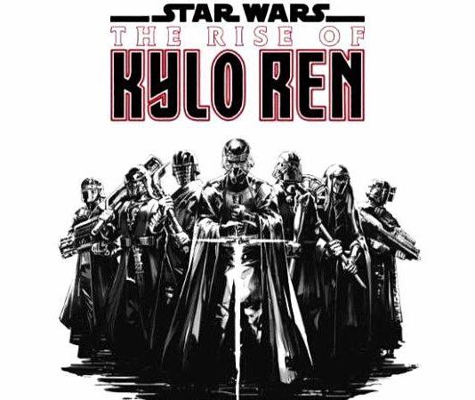 the rise of kylo ren fumetti di star wars