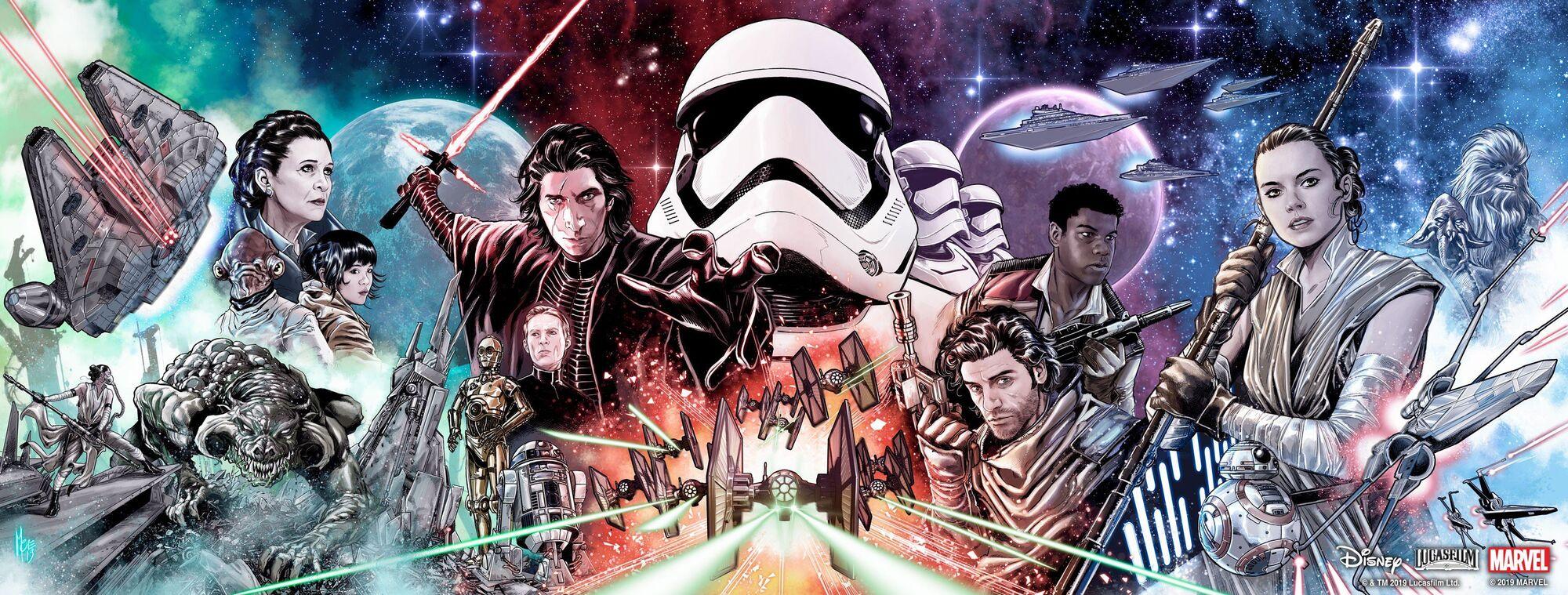annunci fumetti star wars
