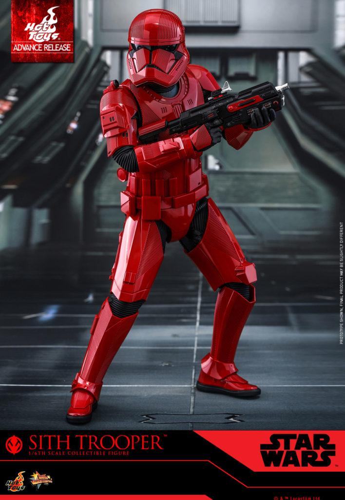flotta sith Un Sith Trooper nella prima immagine ufficiale