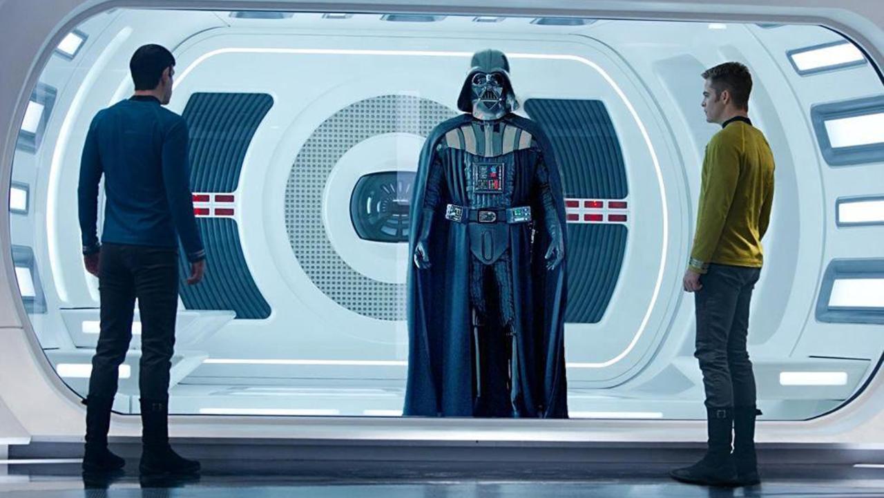 Darth Vader, Spock e il capitano Kirk
