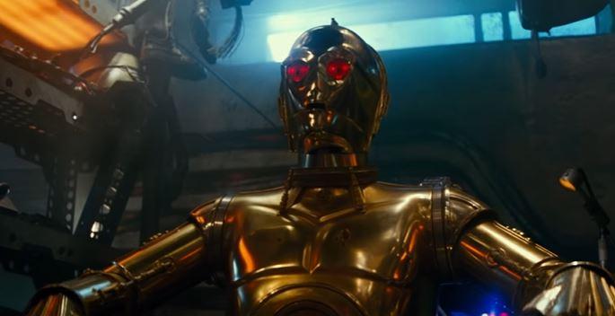 Babu Frik c-3po nel trailer di episodio ix