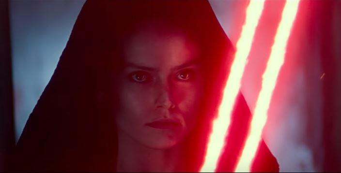 rey al lato oscuro nel trailer di episodio ix