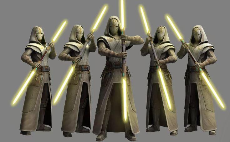 spada laser star wars guardie del tempio jedi