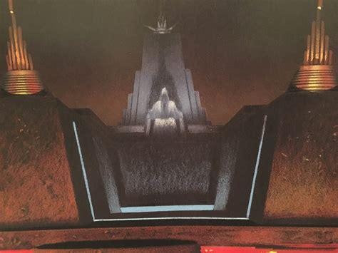 trono di palpatine star wars