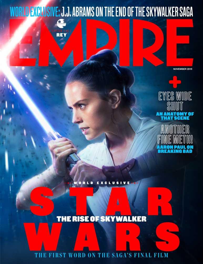 Nel reportage con la foto dei Cavalieri di Ren, troviamo anche l'immagine di Rey