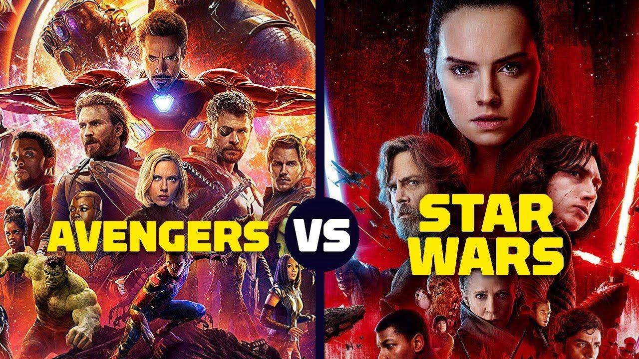I due poster di Star Wars Episodio VIII e di Infinity War, prima parte di Endgame