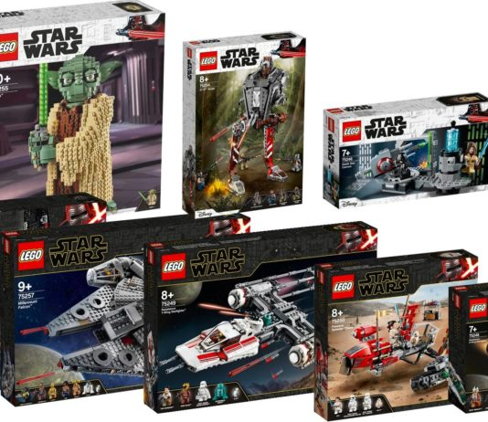 nuovi set lego star wars triple force friday