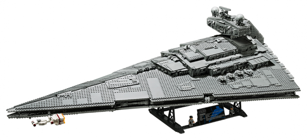Il nuovo set LEGO Imperial Star Destroyer  assemblato
