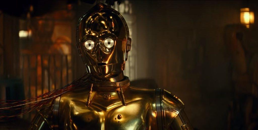 droide b1 nel trailer di episodio ix
