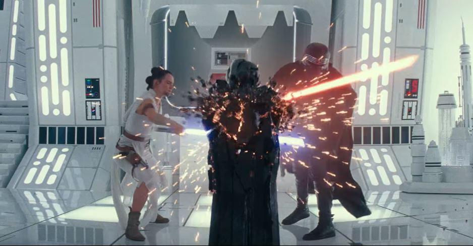 colpo di rey altare nel trailer di star wars