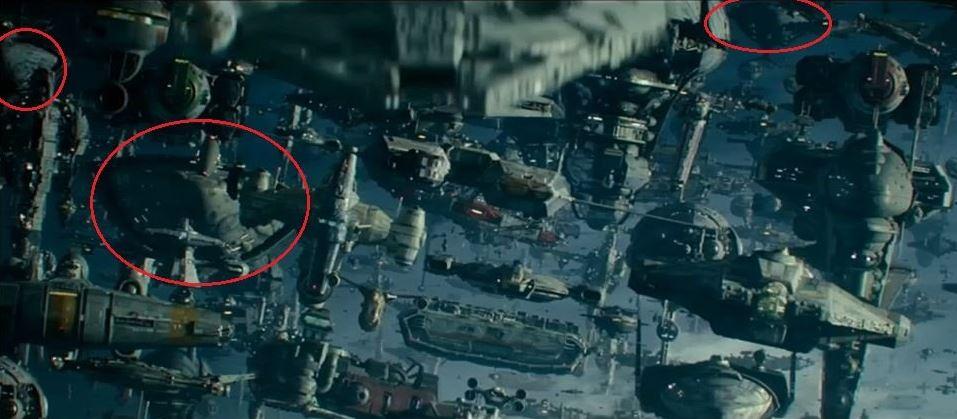 astronavi della Resistenza nel trailer di episodio ix