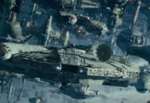 millennium falcon piloti e astronavi trailer episodio ix