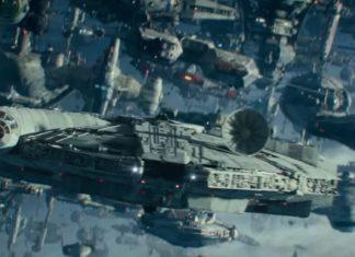 millennium falcon astronavi trailer episodio ix