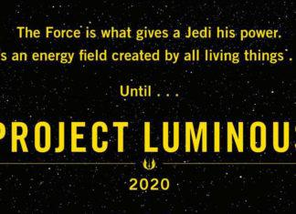 project luminous star wars la forza