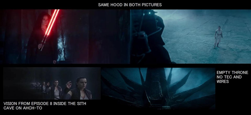 teoria sul trailer di episodio ix