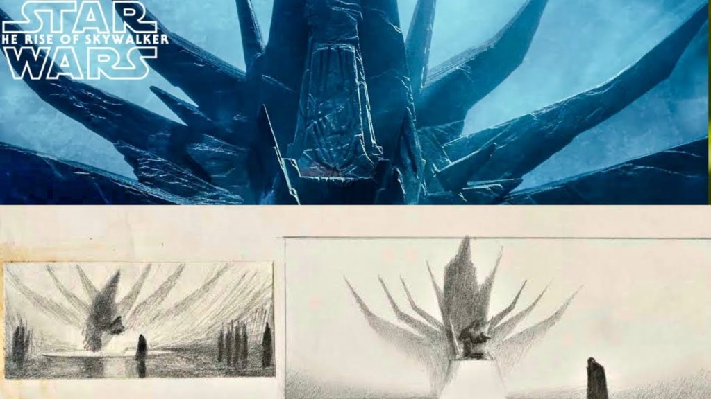 il trono di palpatine in episodio ix