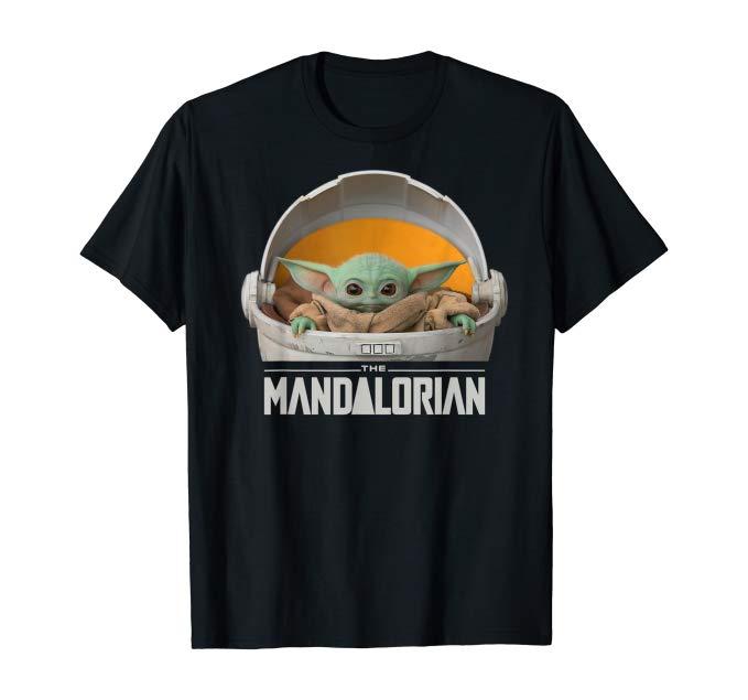 t-shirt baby yoda the mandalorian
