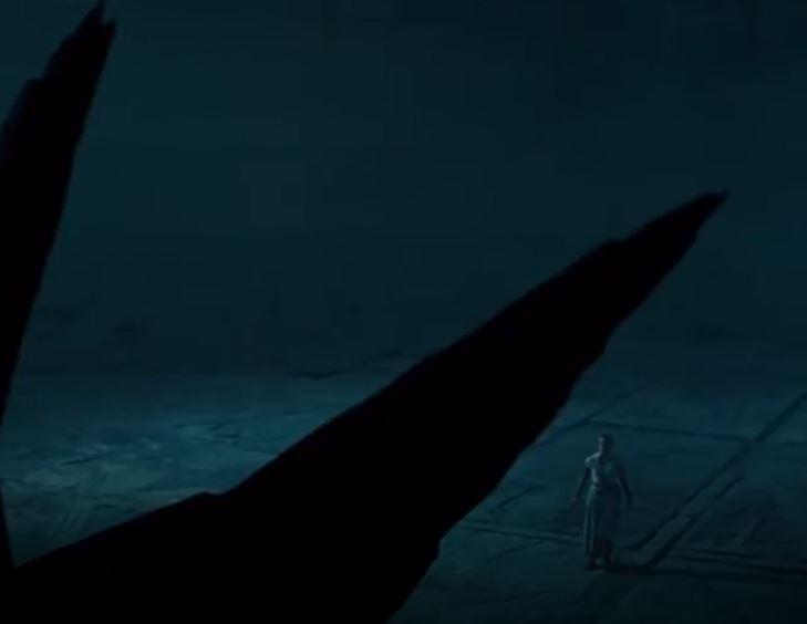 trono di palpatine in star wars episodio ix