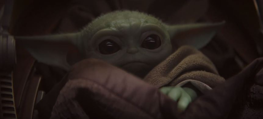 baby yoda cucciolo in the mandalorian