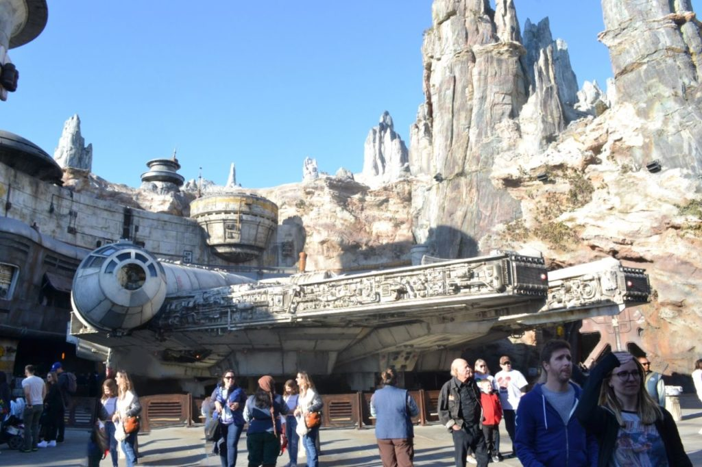 esperienza al galaxy's edge di star wars