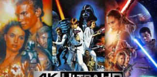 cofanetto della saga di star wars