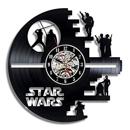 orologio da parete di star wars