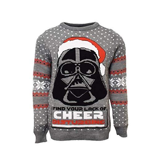 Pullover Darth Vader regalo di natale