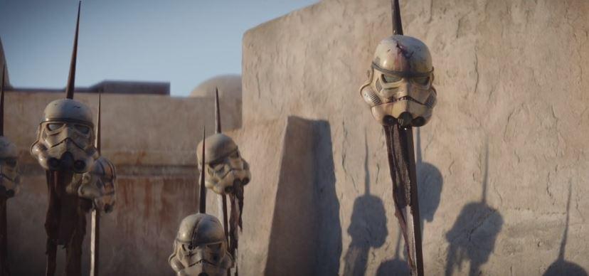 caschi di stormtrooper