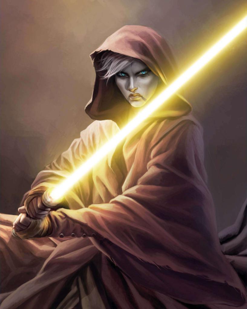 spada laser di ventress in star wars