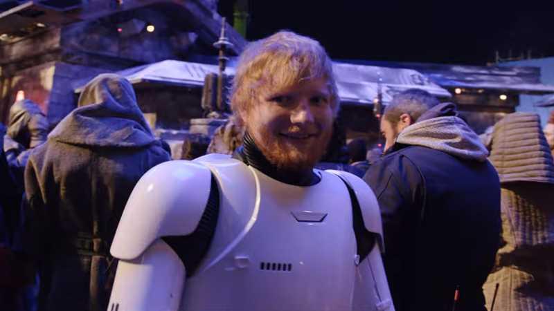 ed sheeran cameo the rise of skywalker