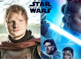 ed sheeran cameo the rise of skywalker
