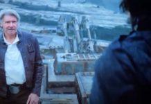 harrison Ford han solo in star wars episodio ix