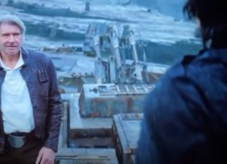 harrison Ford han solo in star wars episodio ix