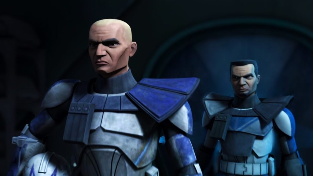 Rex e Cody di The Clone Wars