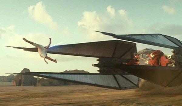 Gli effetti speciali del salto di Rey