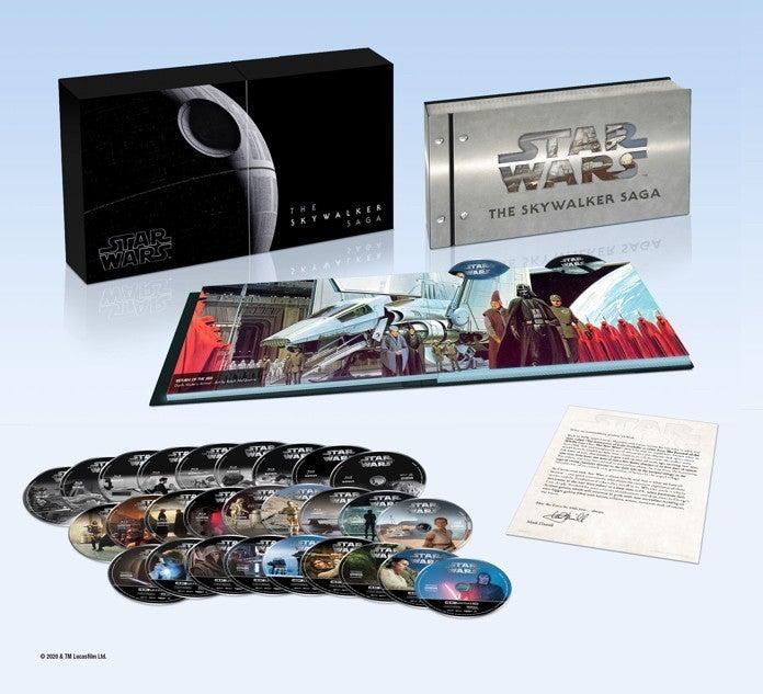 cofanetto completo della saga di star wars