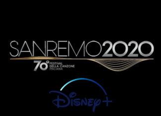 sanremo 2020 e disney+