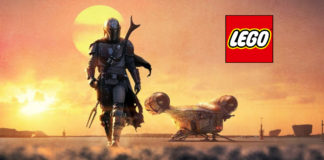 the mandaloran lego cover