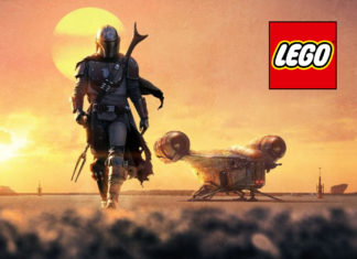the mandaloran lego cover