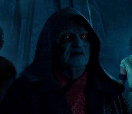 Diade nella Forza Palpatine Rey Ben