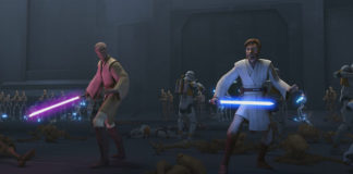 Fotogramma di The Clone Wars, stagione 7 episodio 4