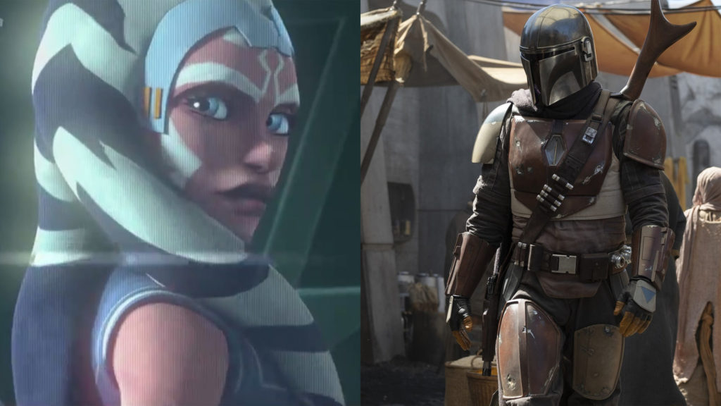 ahsoka in the mandalorian puntate