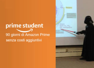 l'abbonamento Amazon prime student