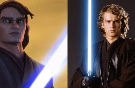 anakin skywalker in star wars