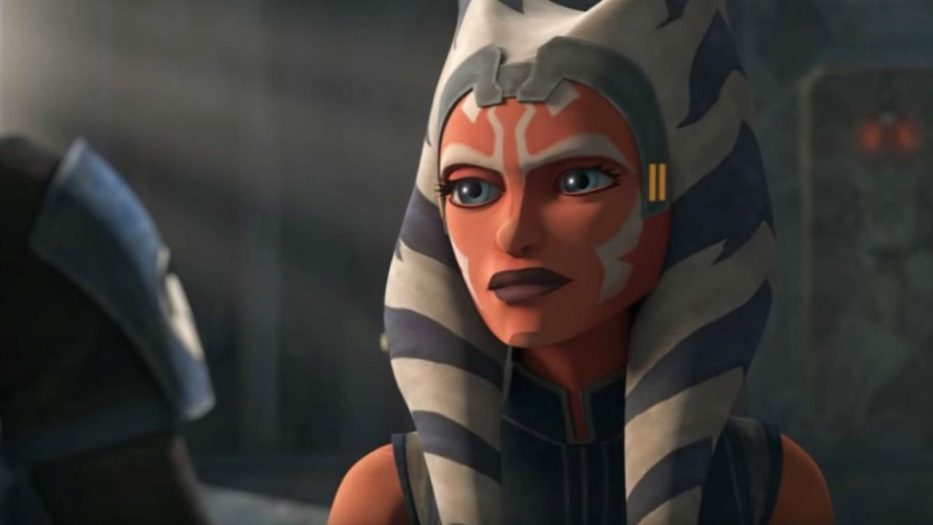 Ahsoka in The Clone Wars, stagione sette episodio sei