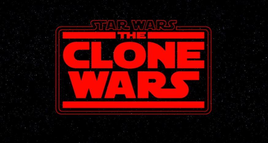the clone wars logo rosso