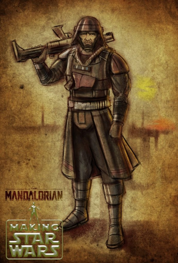 Biehn Concept Art The Mandalorian