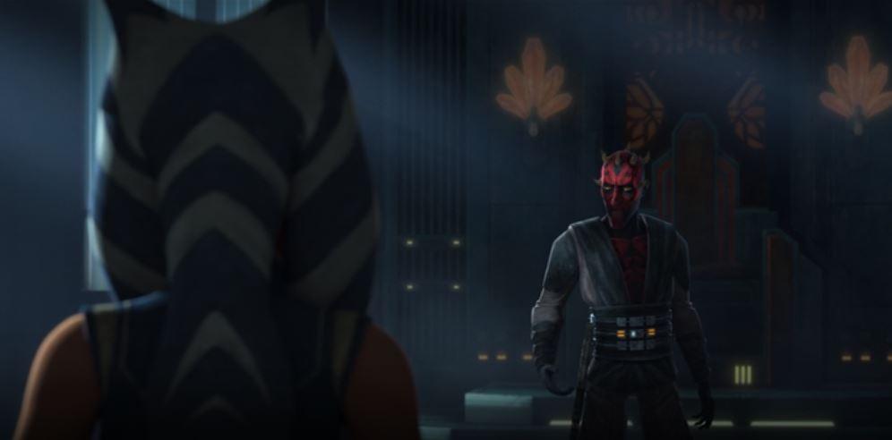 maul e ahsoka the clone wars